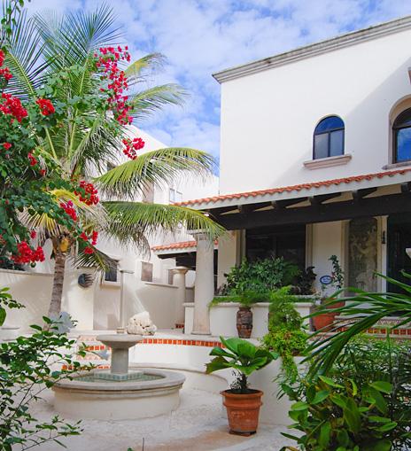 Casa San Francisco luxury vacation rental villa in South Akumal on the Riviera Maya, Mexico