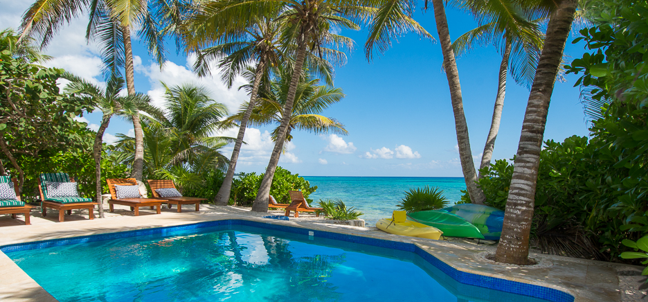 Casa San Francisco luxury vacation rental villa in South Akumal on the Riviera Maya, Mexico
