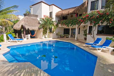 Casa Sea Gate, a 4 BR Akumal vacation rental villa on the Riviera Maya