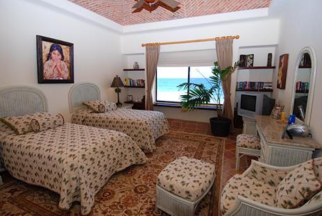 Bedroom  #3  at Solymar vacation rental villa in Akumal, Mexico