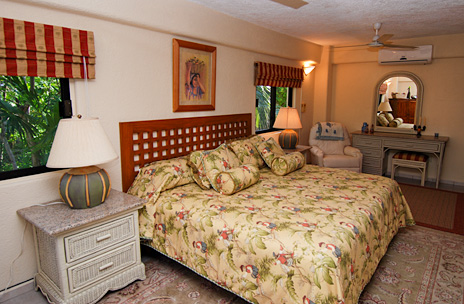 Bedroom  #4  at Solymar vacation rental villa in Akumal, Mexico