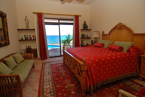 Bedroom  #1  at Solymar vacation rental villa in Akumal, Mexico