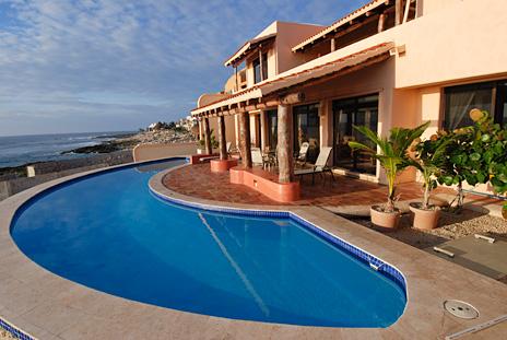 Swimming pool at Solymar vacation rental villa on the Riviera Maya, Akumal, Mexico