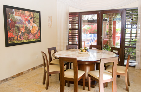 Buena Suerte is a luxury vacation rental villa on Soliman Bay along the Riviera Maya