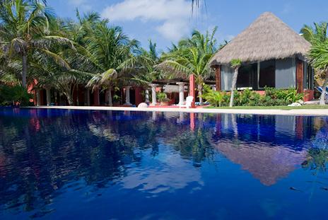 Pool Casa Buena Suerte Soliman Bay Mexico