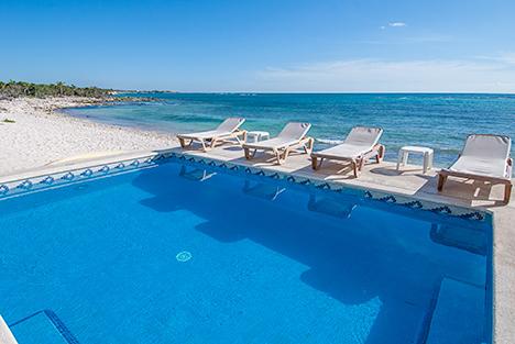 Pool Villa Turquesa South Akumal vacation rental