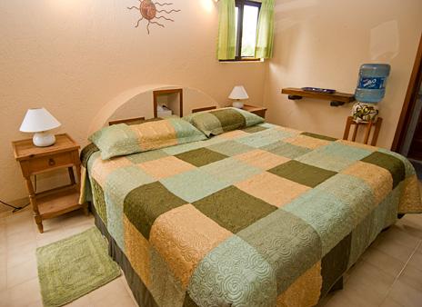 Second bedroom at U Nah Kin 2 BR Aventuras Akumal vacation rental condos