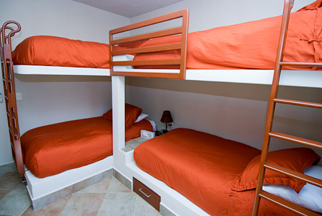 Bedroom #5 at La Via 5 BR Akumal vacation rental home