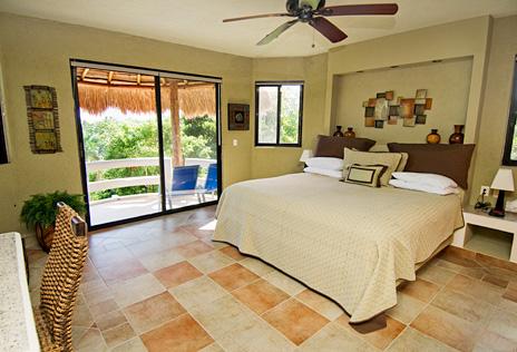 Bedroom #2 at La Via 5 BR Akumal vacation rental home
