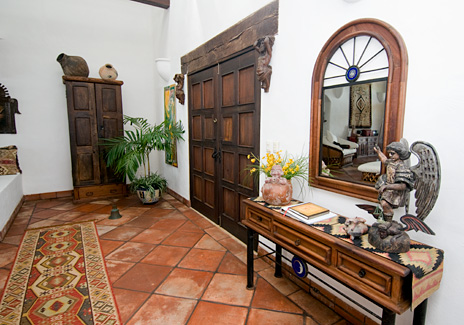 Entry at  Las Vigas 2 BR Akumal vacation rental villa