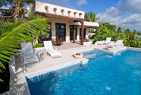 Las Vigas 2 BR Akumal vacation rental villa, perfect for honeymooners
