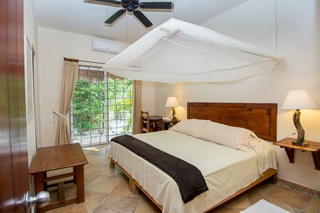 Bedroom #2 at  Casa Yamulkan vacation rental villa on Soliman Bay