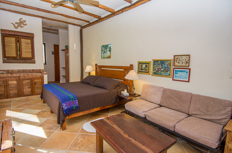 Bedroom #3 at  Casa Yamulkan vacation rental villa on Soliman Bay