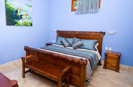 Bedroom #9  at Villa Yardena  luxury Vacation Rental villa on Soliman Bay