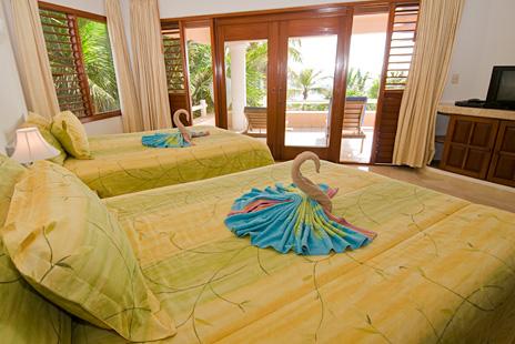 Bedroom #3  at Villa Yardena  Vacation Rental property  on Soliman Bay
