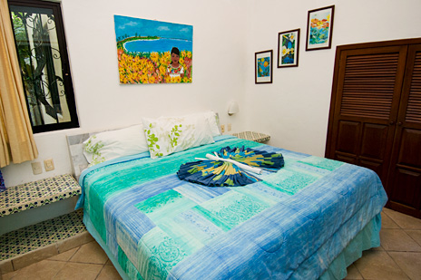 Bedroom #5  at Villa Yardena Vacation Rental property on Soliman Bay