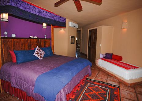Bedroom Zen del Mar Akumal Mexico vacation rental villa